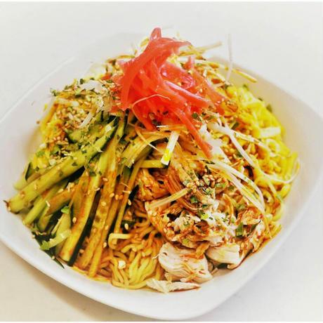 勝浦タンタンメン風味冷やし中華(生麺)3食入