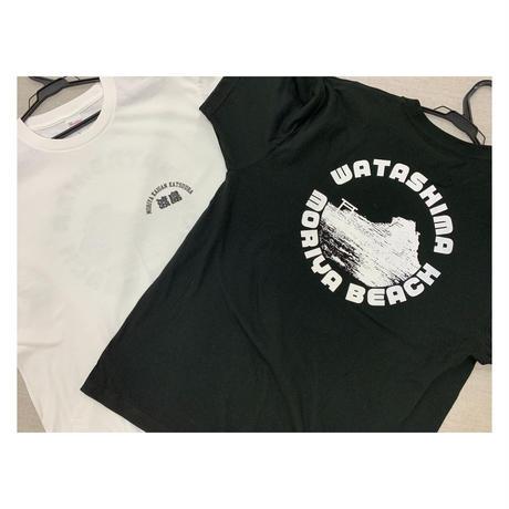 守谷海岸 渡島(わたしま)Tシャツ