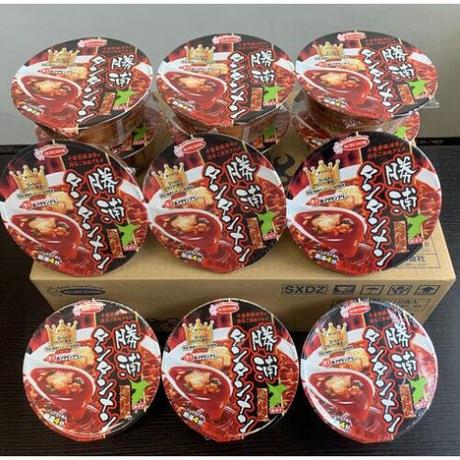 勝浦タンタンメン(カップ麺)1ケース【定期便】