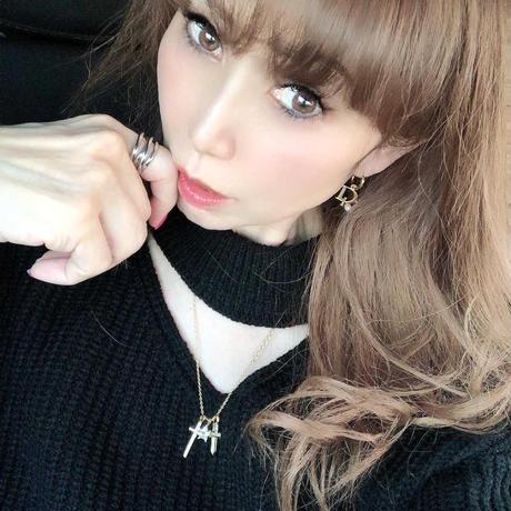 nana様着用カスタマイズネックレス