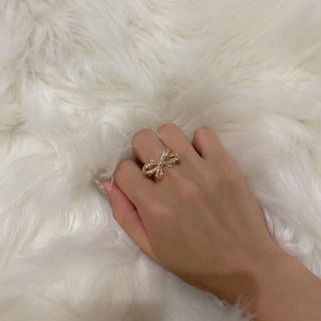 ∞ring ribbon gold