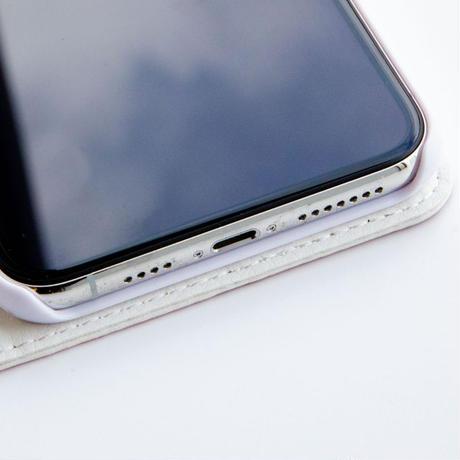 水玉NEETベルト付き手帳型スマホケース (iPhone11シリーズ専用)