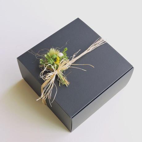 【販売終了】Hana Tutumi Gift 季節のかわきばな®リース(黄・Sサイズ)