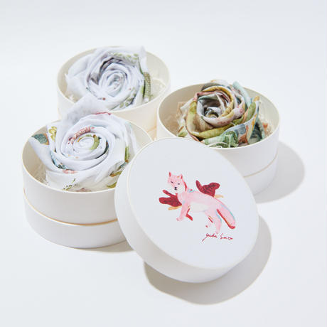 Blooming Handkerchief Gift -Dog-