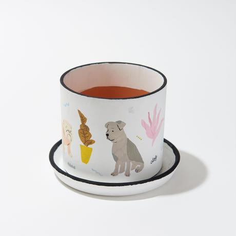 植木鉢 DOG   Plant Pot