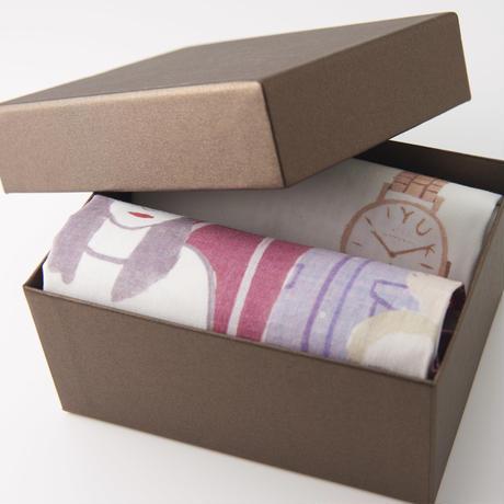 Handkerchief Gift Set'2'         ハンカチギフトセット2枚