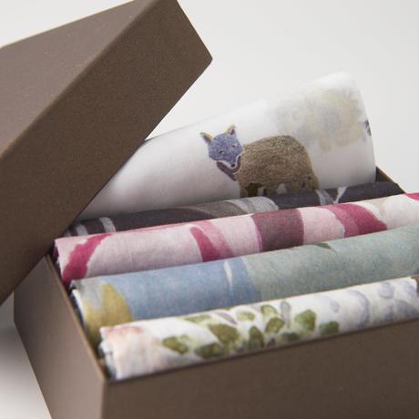 Handkerchief Gift Set '5'         ハンカチギフトセット5枚