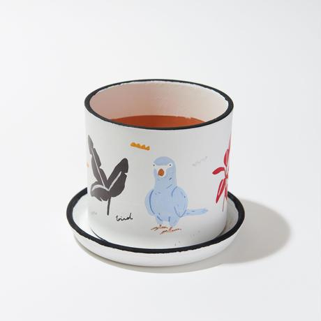 植木鉢 Birds Plant Pot