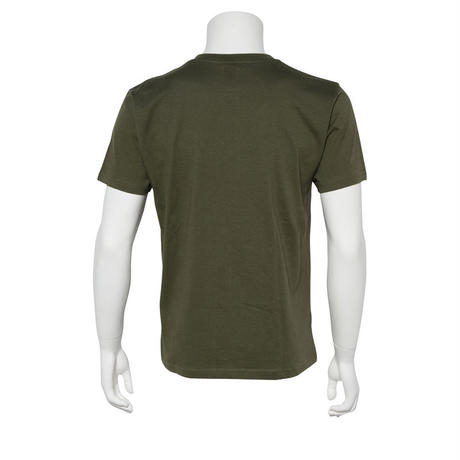 LT002 ロゴTシャツ ARMY GREEN/WHITE from UK