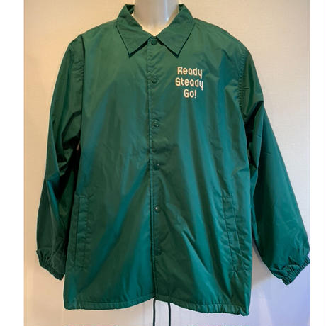JK002-3 コーチジャケット GREEN/BEIGE