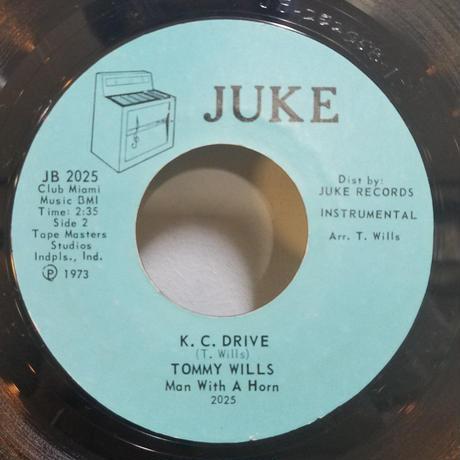 SP-0006  K.C.DRIVE / KANSAS CITY          TOMMY WILLS      #RARE GROOVE/中古レコードSP