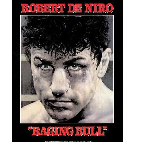 """RP-011 『レイジング・ブル』""""RAISING BULL""""/映画ポスターアメリカ版リプリント1980"""