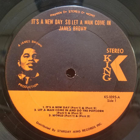 LP-0003   Its  A New Day-So Let A  Man Come In /JAMES BROWN     #RARE GROOVE/中古レコードLP