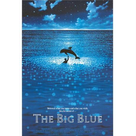 "RP-017『グランブルー』""THE BIG BLUE""/映画ポスター/アメリカ版リプリント/1988"