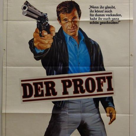 "OP-067「プロフェッショナル」""LE PROFESSIONNEL"" 映画ポスター/ドイツ版オリジナル/1981"