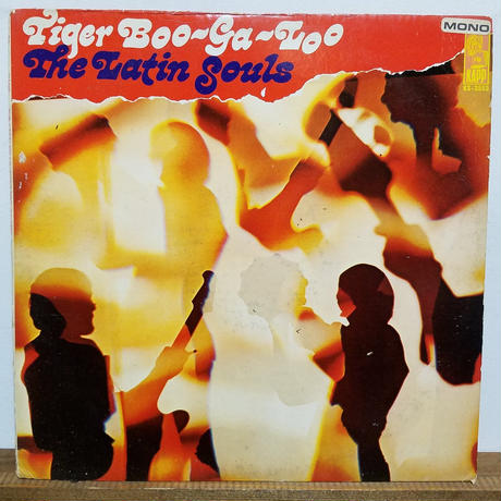 LP-0023  THE LATIN SOULS /TIGER BOO-GA-LOO/#BOOGALOO/ #中古レコードLP