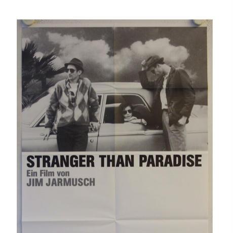 """OP-077『ストレンジャー・ザン・パラダイス』""""Stranger Than Paradise""""/映画ポスター/ドイツ版オリジナル/1984年"""
