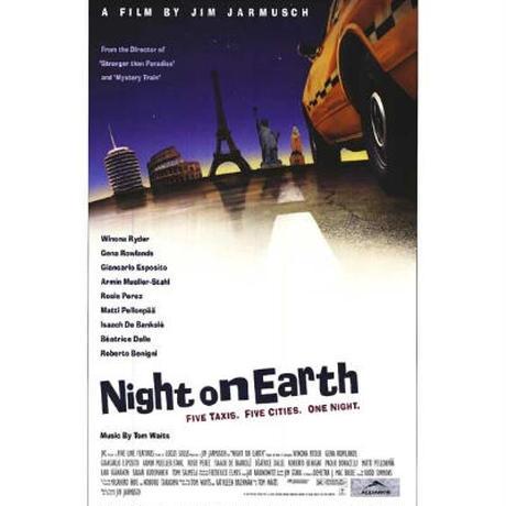 "OP-101 『ナイト・オン・ザ・プラネット』""NIGH ON EARTH""/映画ポスター 映画ポスター/米国版オリジナル/1991"