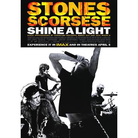 "OP-086『ザ・ローリングストーンズ シャイン・ア・ライト』""SHINE A LIGHT""/映画ポスター/アメリカ版オリジナル/2009"