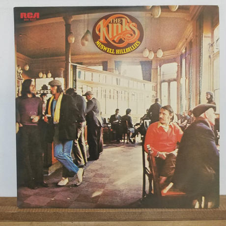 LP-0016 Muswell Hillbillies/The Kinks  #ROCK/#中古レコードLP