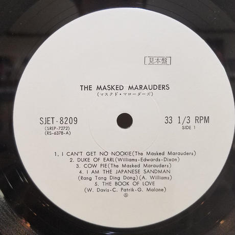 LP-0014  仮面の略奪者たち/THE MASKED MARAUDERS  #ROCK/中古レコードLP