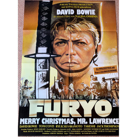 OP-026 「戦場のメリークリスマス(Merry Christmas Mr.Lawrence)」 #映画ポスター/ドイツ版オリジナル/1983/590mm×840mm