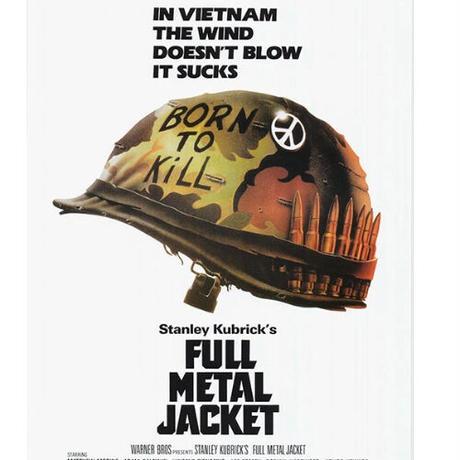 """RP-013『フルメタル・ジャケット』""""FULL METAL JACKET』/映画ポスターアメリカ版リプリント1987"""