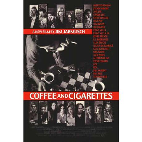 "OP-105『コーヒー&シガレッツ』""Coffee&Cigarettes""/映画ポスター アメリカ版オリジナル/2004年"