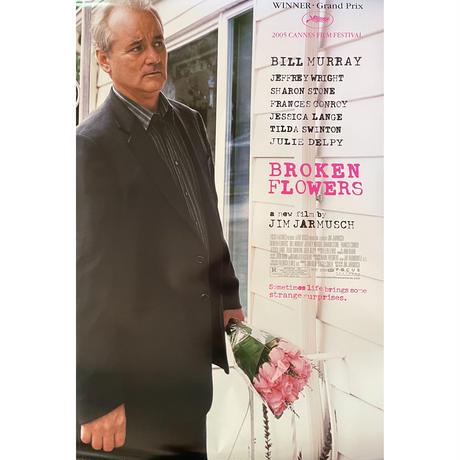 "OP-104 『ブロークン・フラワーズ』""Broken Flowers""/映画ポスター アメリカ版オリジナル/2005年"