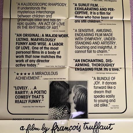 OP-018「トリュフォーの思春期(SMALL CHANGE)」#映画ポスター/米国版オリジナル/1976/1040mm×685mm