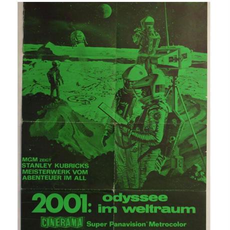 "RO-006『2001年宇宙の旅』""2001 A SPACE ODYSSEY""/ 映画ポスター ドイツ版 リバイバルオリジナル1970年代"