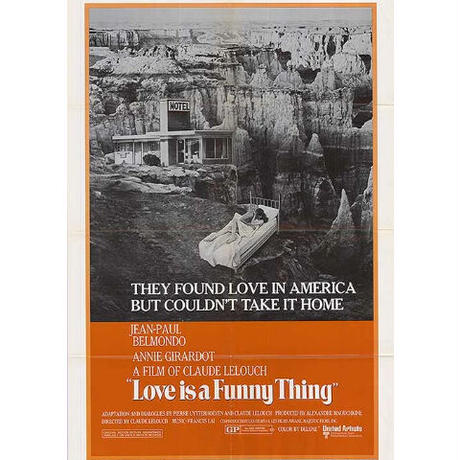"""OP-059 「あの愛をふたたび」""""LOVE IS A FUNNY THING"""" 映画ポスター/アメリカ版オリジナル/1970"""