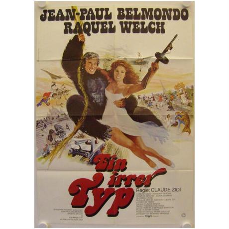 """OP-068 「ムッシュとマドモアゼル」""""L'ANIMAL""""   映画ポスター/ドイツ版オリジナル/1977"""