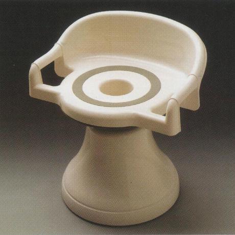 ユ~ランド浴室用回転椅子 お子様からお年寄りまで安心して入浴できます♪【ハイタイプ・ガード付 UG01】 ★介護保険対象商品