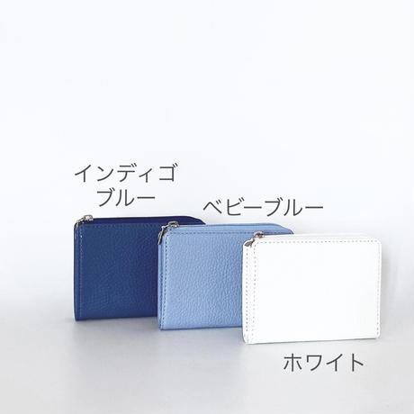 エルファスナーミディアムパース/色が選べます/ブルーグラデーション
