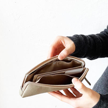 やわらかい長財布/色が選べます/ウォームカラー