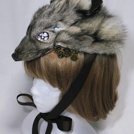 機械獣のヘッドドレス(グレー)