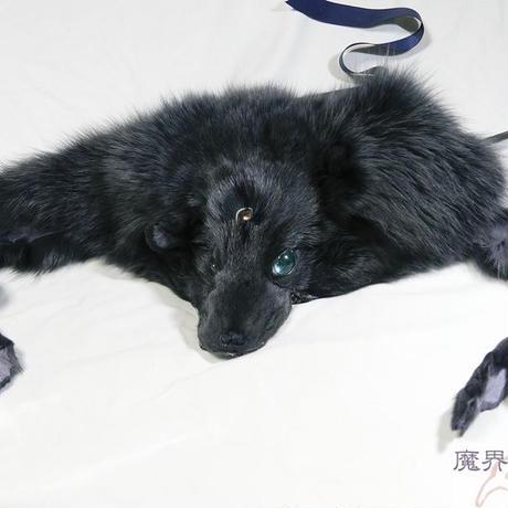黒狐のヘッドドレス