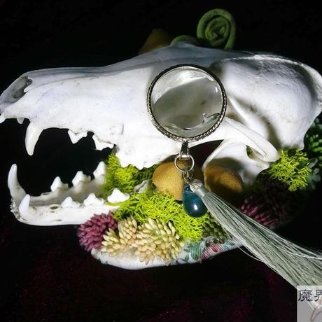 キツネの頭骨ヘッドドレス