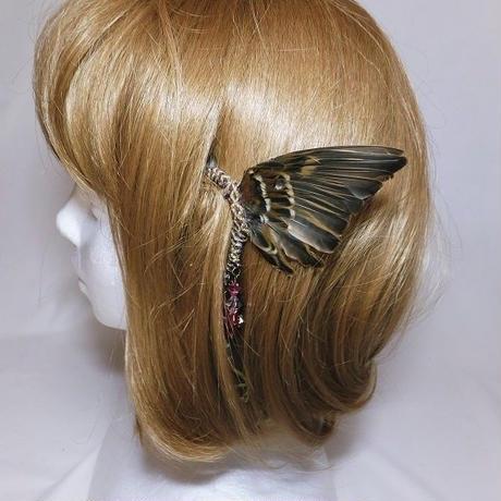 スズメの翼イヤーフック(脚付き)