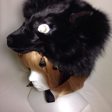 けものヘッドドレス(黒)