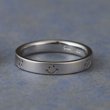 Order Made Marriage Ring#15 (KAR-014Pt900 B)