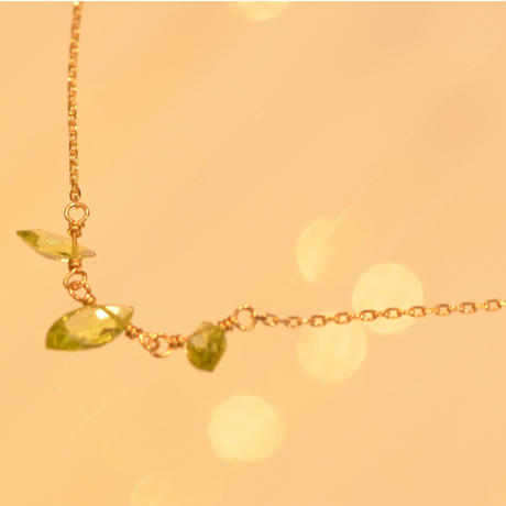 Peridot Necklace (SNN-044PE)