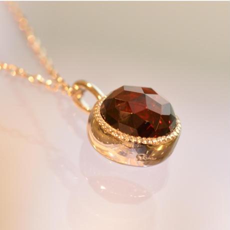Garnet Necklace (iro-015)