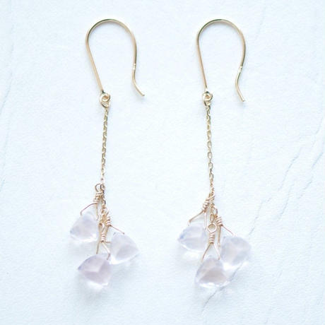 Rose Quartz Pierce (SNP-079RQ)