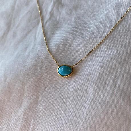 Turquoise Necklace  (SNN-097TQ)スリーピングビューティー