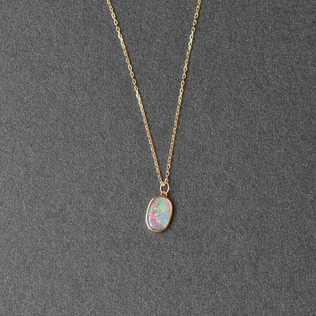 Australia Opal Necklace  (iro-0270OPK18YG)