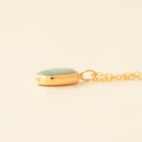 Australia Opal Necklace (iro-0260OP K18YG)