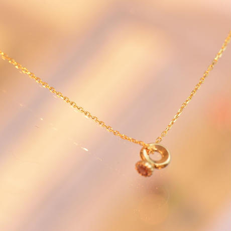 Baby Ring Charm Necklace (KAC-010set)