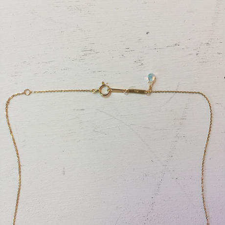opal necklace (SNN-op-Lim-03/ K18YG)